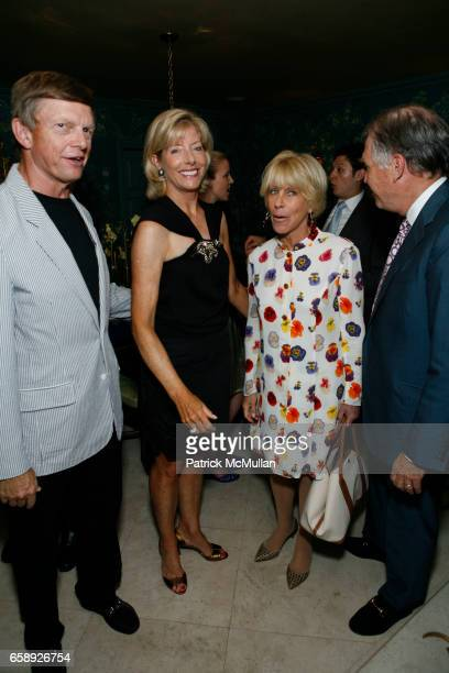Bob Perkins Liz Peek Joni Evans and Jeffrey Peek attend The Museum at FIT Annual Couture Council Summer Party at the Private Residence of Charlotte...