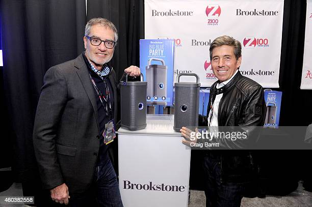 Bob Pittman and CFO Richard J Bressler of Clear Channel attend the Z100's Artist Gift Lounge presented by Goldfish Puffs at Z100's Jingle Ball 2014...