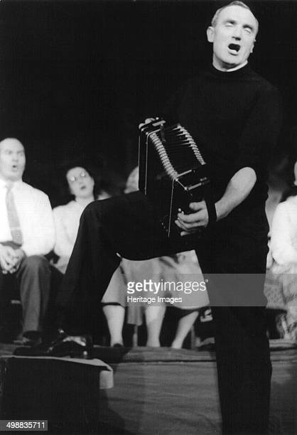 Bob Roberts playing the melodion St Pancras Arts Jubilee Concert London February 1961