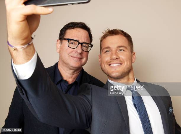 Bob Saget and Colton Underwood of ABC's 'Videos After Dark' and 'The Bachelor' pose for a portrait during the 2019 Winter TCA Getty Images Portrait...