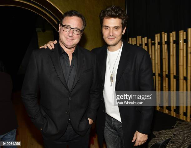 Bob Saget and John Mayer attend the 18th Annual International Beverly Hills Film Festival Opening Night Gala Premiere of Benjamin at TCL Chinese 6...