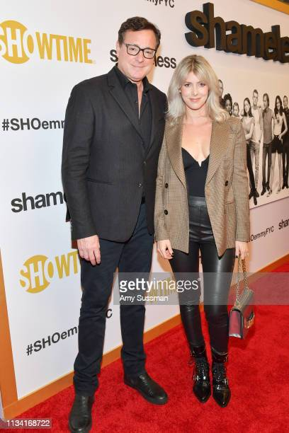 Bob Saget and Kelly Rizzo attend For Your Consideration Event For Showtime's Shameless at Linwood Dunn Theater on March 06 2019 in Los Angeles...