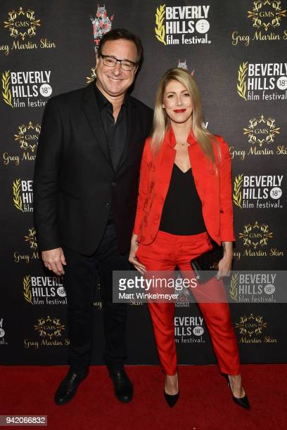 Bob Saget and Kelly Rizzo attend the 18th Annual International Beverly Hills Film Festival Opening Night Gala Premiere of Benjamin at TCL Chinese 6...