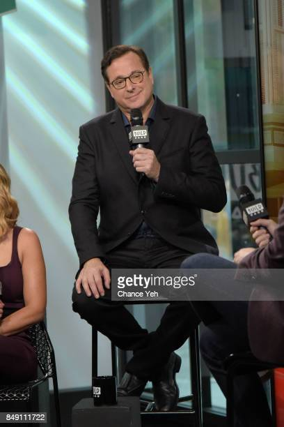 Bob Saget attends Build series to discuss the new season of 'Fuller House' at Build Studio on September 18 2017 in New York City
