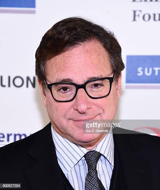 Bob Saget attends Cool Comedy Hot Cuisine A Benefit For The Scleroderma Research Foundation at Carolines On Broadway on December 8 2015 in New York...