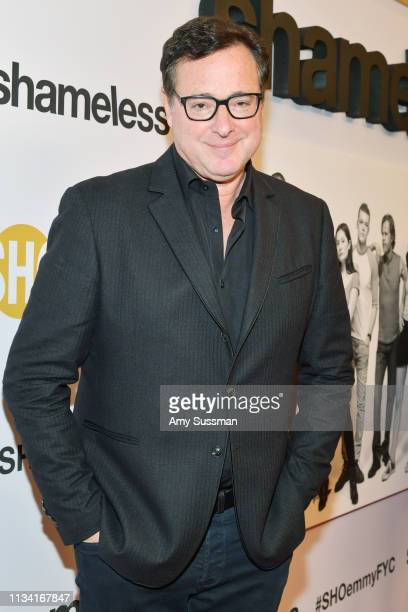 Bob Saget attends For Your Consideration Event For Showtime's Shameless at Linwood Dunn Theater on March 06 2019 in Los Angeles California