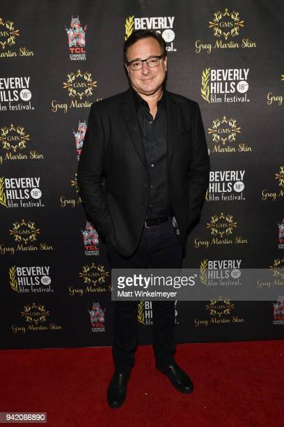 Bob Saget attends the 18th Annual International Beverly Hills Film Festival Opening Night Gala Premiere of Benjamin at TCL Chinese 6 Theatres on...