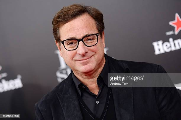 Bob Saget attends The Big Short New York premiere at Ziegfeld Theater on November 23 2015 in New York City