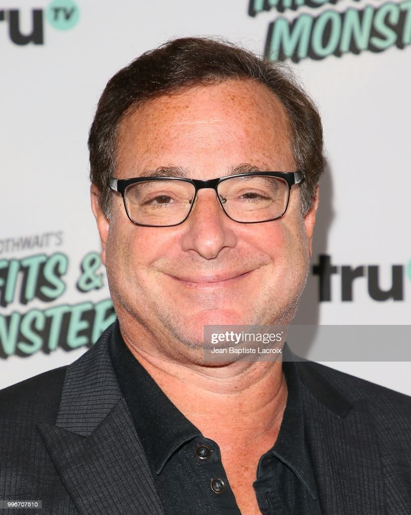 Bob Saget attends the premiere of truTV's 'Bobcat Goldthwait's Misfits & Monsters' held at Hollywood Roosevelt Hotel on July 11, 2018 in Hollywood, California.