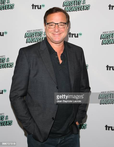 Bob Saget attends the premiere of truTV's Bobcat Goldthwait's Misfits Monsters held at Hollywood Roosevelt Hotel on July 11 2018 in Hollywood...