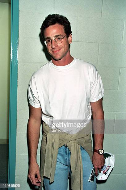 Bob Saget during 3rd Annual Rock'n the Puck Celebrity Hockey Game to Benefit TJ Martell 1994 at Great Western Forum in Los Angeles CA United States