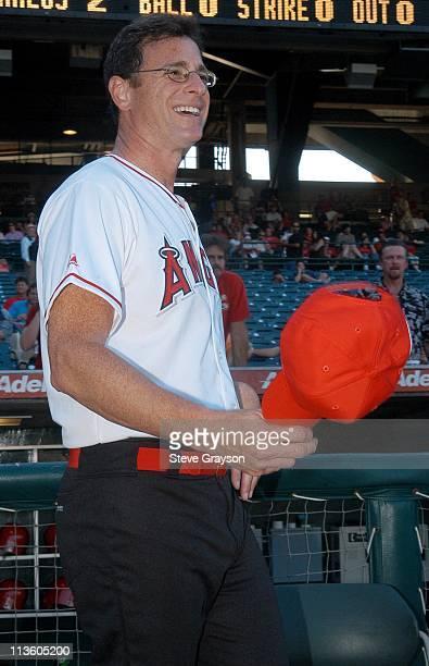 Bob Saget during Hollywood AllStars Celebrity Softball Game August 16 2003 at Edison International Field in Anaheim California United States