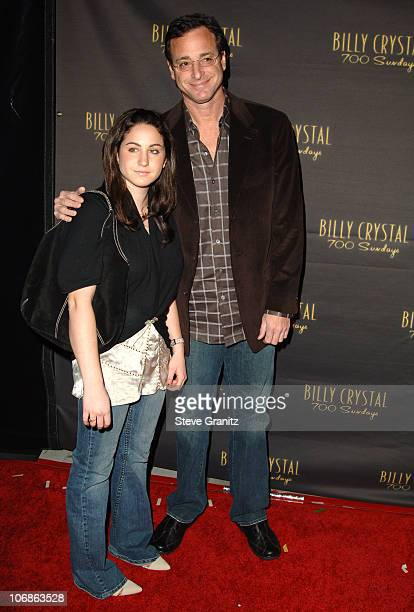 """Bob Saget during Los Angeles Opening Night of The Tony Award Winning Broadway Show Billy Crystal """"700 Sundays"""" at Wilshire Theatre in Beverly Hills,..."""