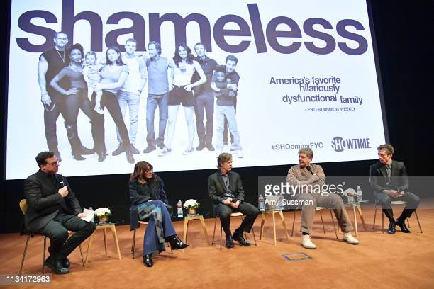 """Bob Saget, Katey Sagal William H. Macy, John Wells and Jeremy Allen White attend For Your Consideration Event For Showtime's """"Shameless"""" at Linwood..."""