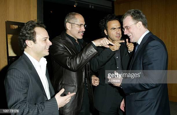 Bob Salerno Producer Guillermo Arriaga Writer Alejandro Gonzalez Inarritu Director/Producer and David Linde CoPresident of Focus Features