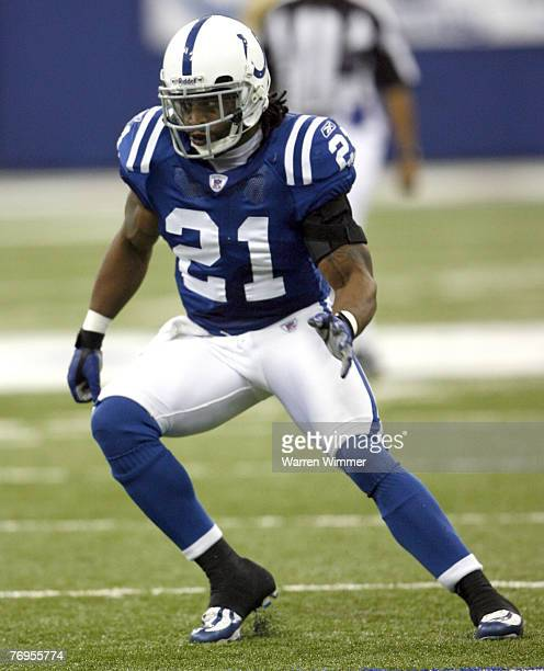 Bob Sanders defensive back in action during the Houston Texans vs Indianapolis Colts game on September 17, 2006 at the RCA Dome, Indianapolis, In...