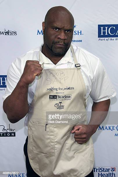 Bob Sapp attends the 14th Annual Kevin Carters Waiting for Wishes Celebrity Waiters Dinner presented by HCA / TriStar benefitting The Kevin Carter...