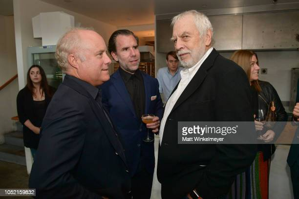 Bob Sauerberg Scott Dadich and Nolan Bushnell attends VIP Dinner For WIRED's 25th Anniversary Hosted By Nicholas Thompson And Anna Wintour at Tartine...