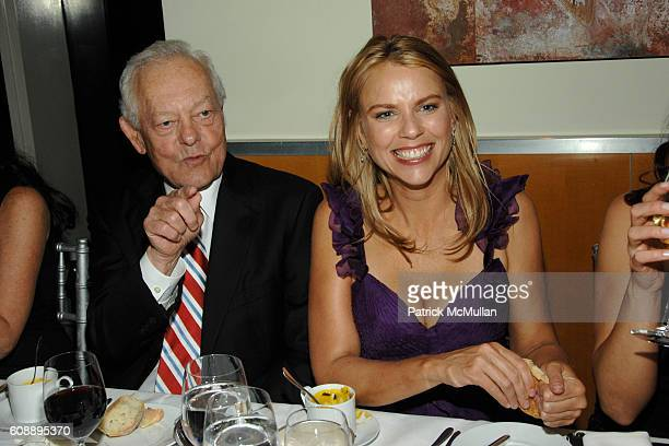 Bob Schaeffer and Lara Logan attend GLAMOUR Women of the Year Awards Dinner at Jean Georges on November 5 2007 in New York City