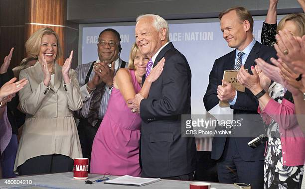 Bob Schieffer on his last show as host of CBS News' FACE THE NATION on May 31 2015 Schieffer announced his retirement in April 2015 after 46 years at...