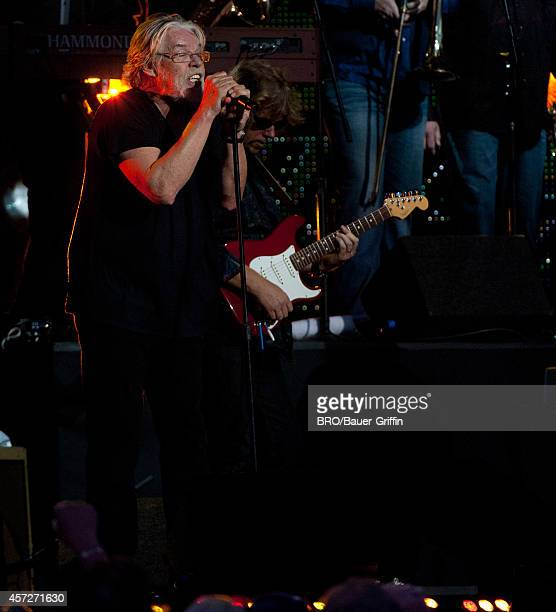 Bob Seger is seen performing at 'Jimmy Kimmel Live' on October 14 2014 in Los Angeles California