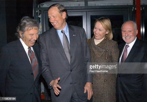 Bob Shaye Governor Pataki with wife Libby and Michael Lynne
