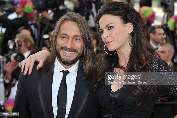 Bob Sinclar and Ingrid at the premiere for Madagascar 3 Europe's Most Wanted during the 65th Cannes International Film Festival