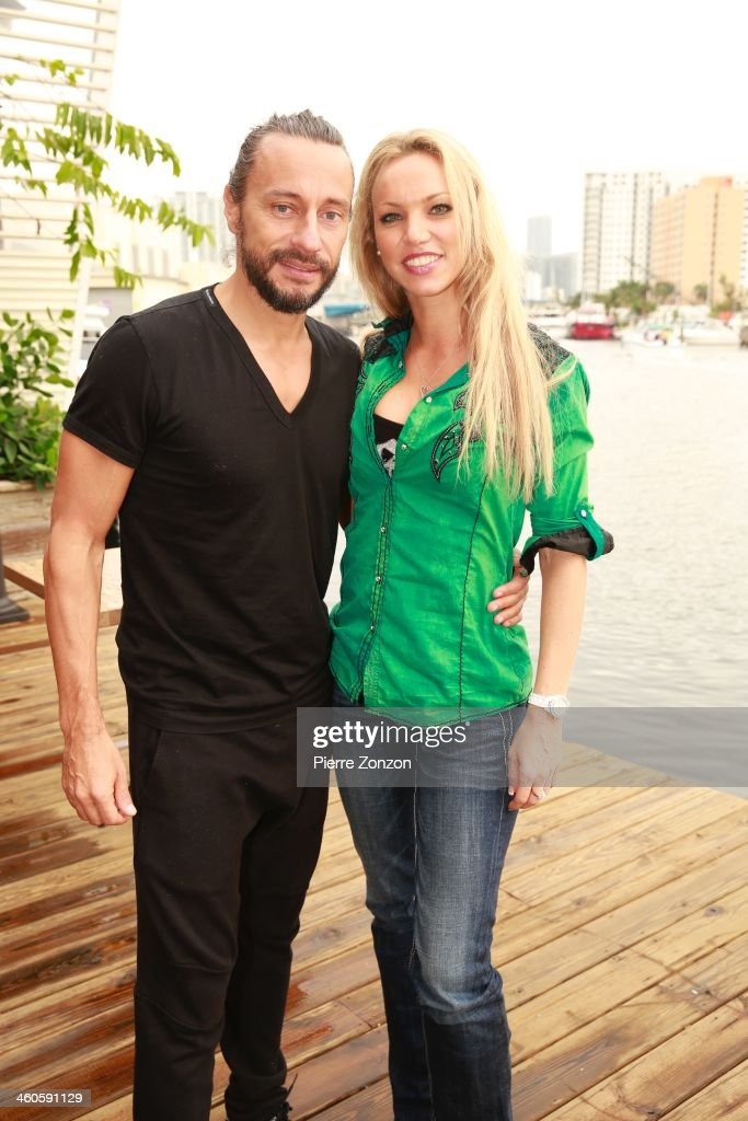 Celebrity Sightings In Miami At Seasalt and Pepper Restaurant - January 4, 2013