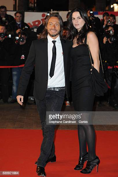 Bob Sinclar and Wife Ingrid attend the NRJ Music Awards 2011 at the Palais des Festivals et des Congres in Cannes