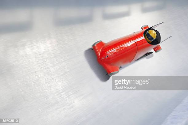 Bob sled on track