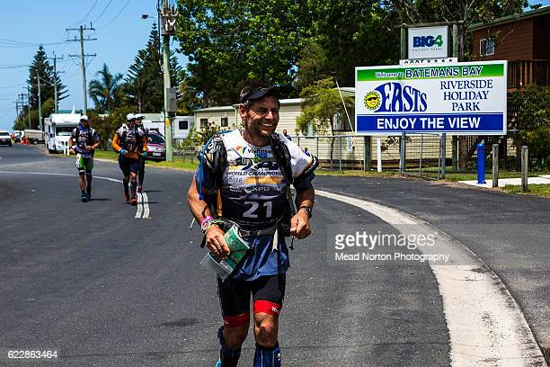 Bob Steadman from Team Peak Adventureduring the Adventure Race World Championship on November 11 2016 in Shoalhaven Australia