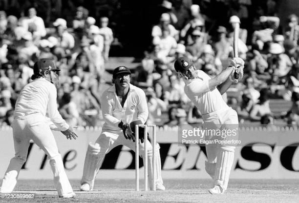 Bob Taylor of England batting during his innings of 32 runs in the 3rd Test match between Australia and England at the MCG, Melbourne, Australia, 5th...