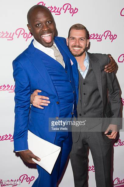 Bob The Drag Queen and director/producer Assaad Yacoub attend the screening of Cherry Pop at The Attic on May 5 2016 in Hollywood California