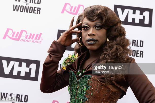 Bob the Drag Queen arrives at 'RuPaul's Drag Race' Season 9 Finale Taping at Alex Theatre on June 9 2017 in Glendale California