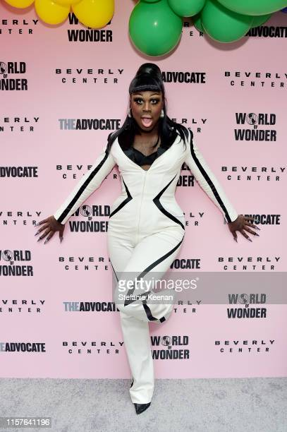 Bob the Drag Queen attends Beverly Center x The Advocate x World of Wonder Pride Event at Beverly Center on June 22 2019 in Los Angeles California