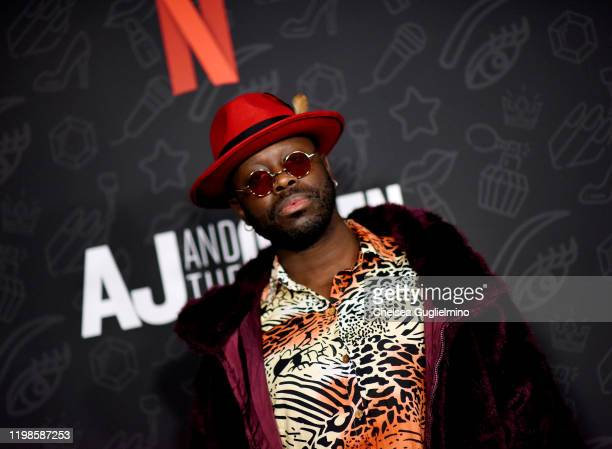 Bob the Drag Queen attends the premiere of Netflix's AJ and the Queen Season 1 at the Egyptian Theatre on January 09 2020 in Hollywood California