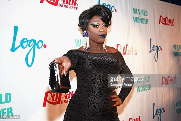 Bob the Drag Queen attends the RuPaul's Drag Race Season 8 Finale Party at Stage 48 on May 16 2016 in New York City
