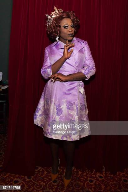 Bob The Drag Queen attends VH1 Presents RuPaul's DragCon Party at Belasco Theatre on April 28 2017 in Los Angeles California