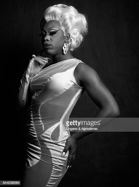 Bob the Drag Queen poses for a portrait at Logo's Trailblazer Honors on June 23 in the Cathedral of St John the Divine in New York City