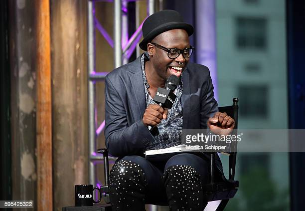 Bob the Drag Queen speaks at AOL Build Presents The Cast Of RuPaul's Drag Race All Stars at AOL HQ on August 25 2016 in New York City