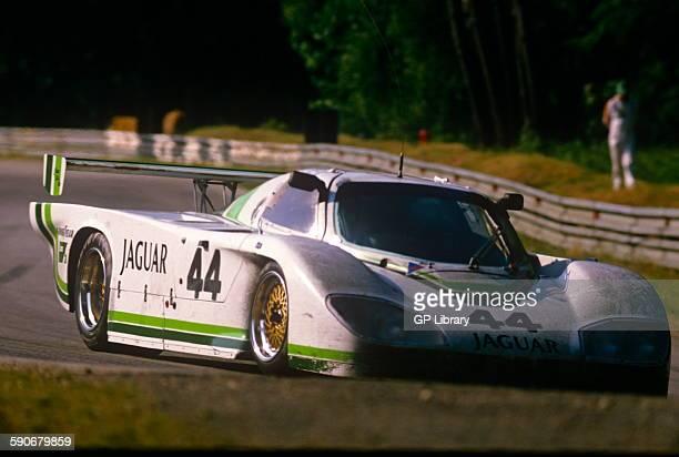 44 Bob Tullius Brian Redman and Doc Bundy Jaguar XJR5 at Le Mans 17 June 1984