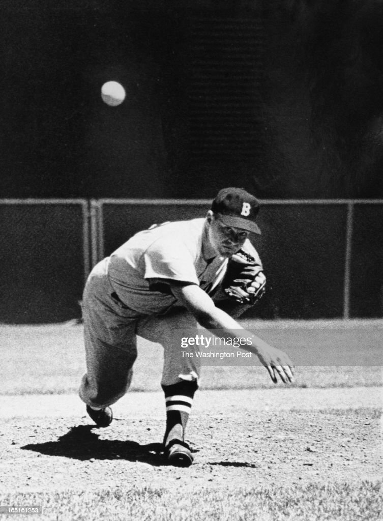 FILE, Bob Turley pitches in Washington, DC on August 4, 1963. Bob Turley, a pitcher who played for the Baltimore Orioles and the New York Yankees, died March 30 at 82.