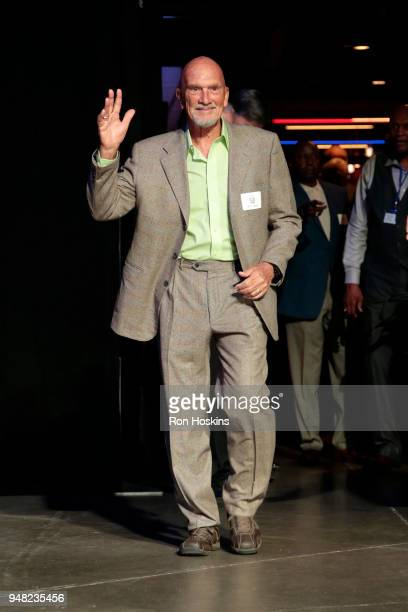 Bob Verga during the ABA 50th Reunion on April 7 2018 at the Bankers Life Fieldhouse in Indianapolis Indiana NOTE TO USER User expressly acknowledges...
