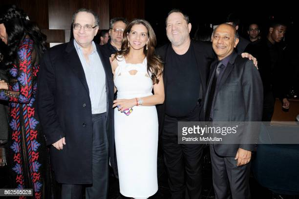 """Bob Weinstein, Vanashree Singh, Harvey Weinstein and Anant Singh attend New York After Party For """"Mandela: Long Walk to Freedom"""" hosted by The..."""
