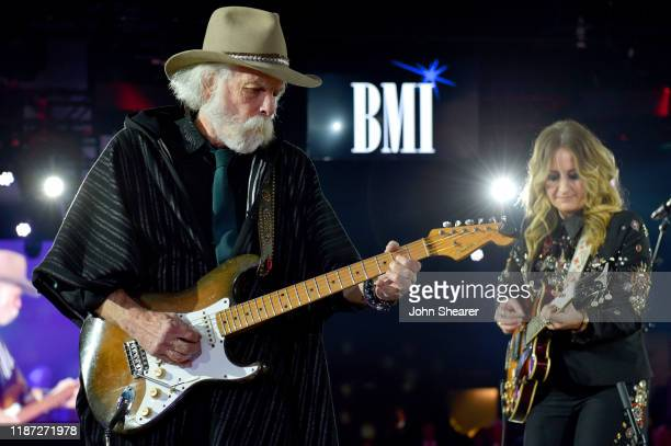 Bob Weir and Margo Price perform at the BMI presents Dwight Yoakam with President's Award at 67th Annual Country Awards Dinner at BMI on November 12...