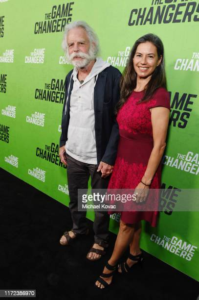 Bob Weir and Natascha Münter attend the Los Angeles Premiere of The Game Changers Documentary at ArcLight Hollywood on September 04 2019 in Hollywood...