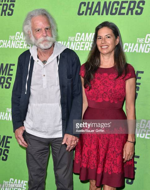Bob Weir and Natascha Muenter attend the LA Premiere of The Game Changers at ArcLight Hollywood on September 04 2019 in Hollywood California