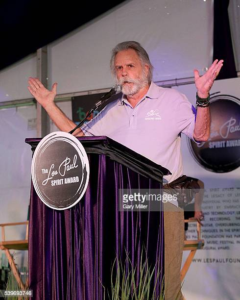 """Bob Weir condemned Texas Lt. Govenor Dan Patrick's tweet """"A man reaps what he sows"""" regarding the Orlando mass shooting victims while accepting the..."""