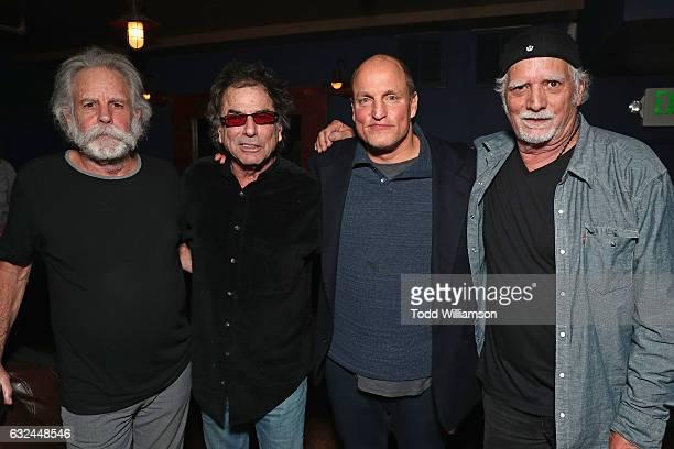 Bob Weir Mickey Hart Woody Harrelson and Bill Kreutzmann attend the Amazon Studios celebration of 'Long Strange Trip' at the 2017 Sundance Film...
