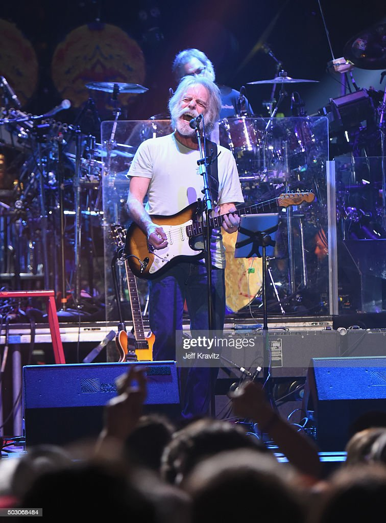 Bob Weir of Dead and Company performs at The Forum on December 31, 2015 in Inglewood, California.